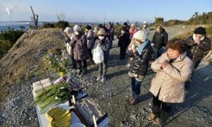 Fukushima anniversary