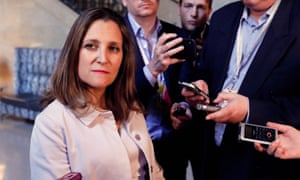 Chrystia Freeland will travel to Washington this week for a visit which will focus on trade talks – but also attempt to reset US-Canada relations.