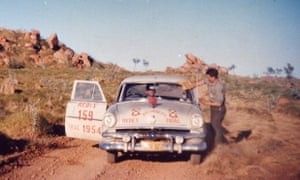 The Redex trials made heroes out of the drivers, who had to cover 10,000 miles in 17 days. Photograph: courtesy of Hal Moloney