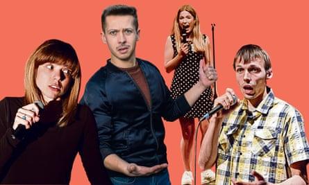 Miranda Lončar, Mike Topolski, Olga Koch and Gatis Kandis are among those performing in the Eastern European comedy festival.