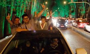 Tehran celebrates nuclear talks