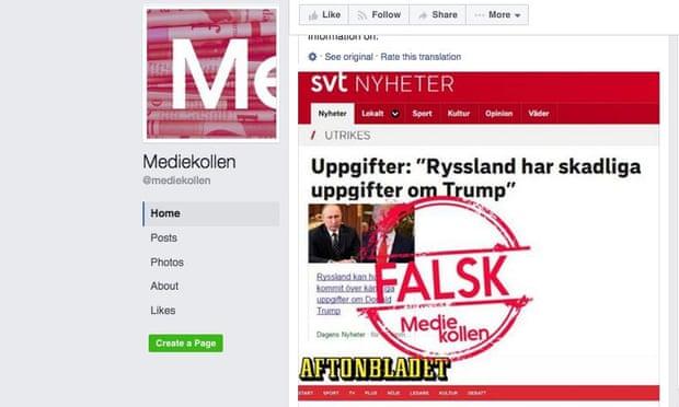 theguardian.com - Jasper Jackson - In the post-truth era Sweden's far right fake fact checker was inevitable