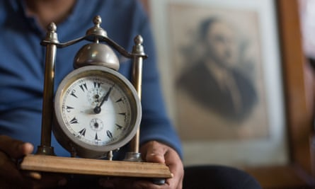 'How can a proud country kill its heritage?' asks Essam Ahmed, proudly showing the alarm clock his father once fixed for King Farouk.