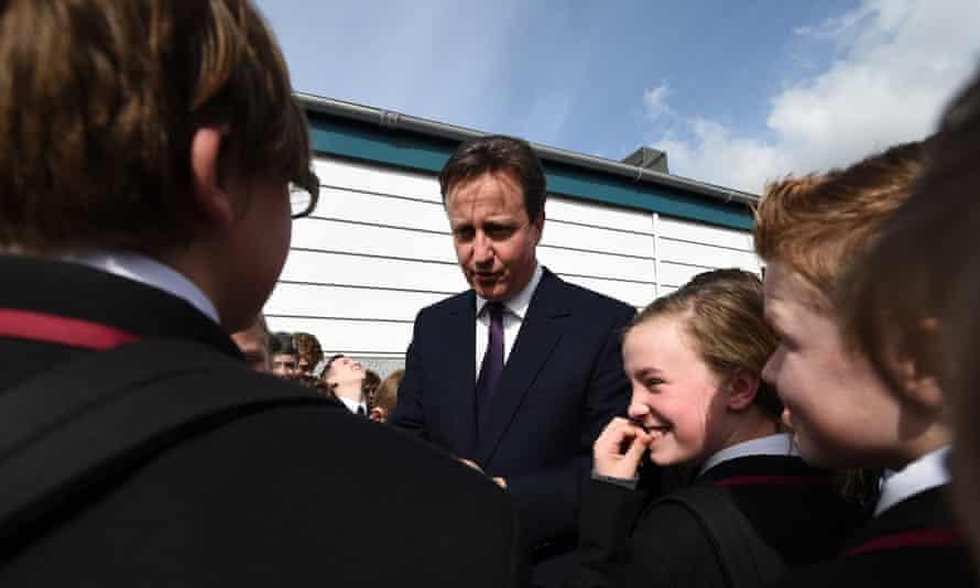 David Cameron at King's Leadership Academy in Warrington