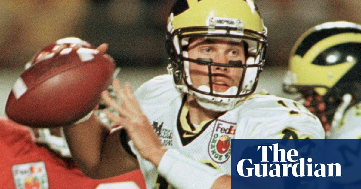 best service daae9 bfe04 Tom Brady's Michigan days: the kid had the sangfroid to ...