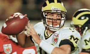 best service 9acbf b0b5d Tom Brady's Michigan days: the kid had the sangfroid to ...