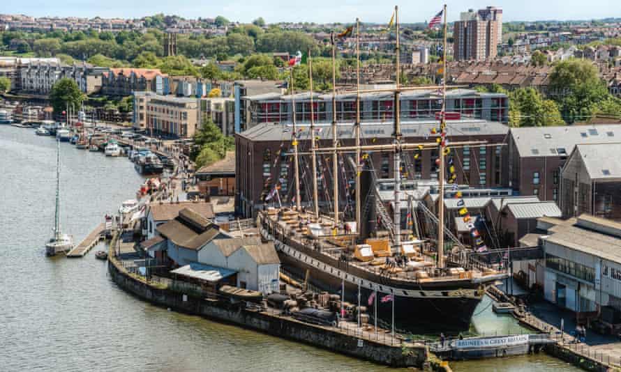 Brunel's SS Great Britain in Bristol Harbour