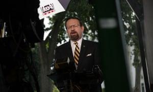 Sebastian Gorka, former White House deputy assistant to the president, interviewed on Fox News.