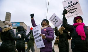 'It seems unlikely that the Acero teachers successfully taking on their bosses, the billionaire-backed corporate education reform model, and the broader context of austerity in America through striking will stay confined to Chicago.'