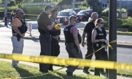 Capital Gazette shooting: suspect charged after attack kills five people