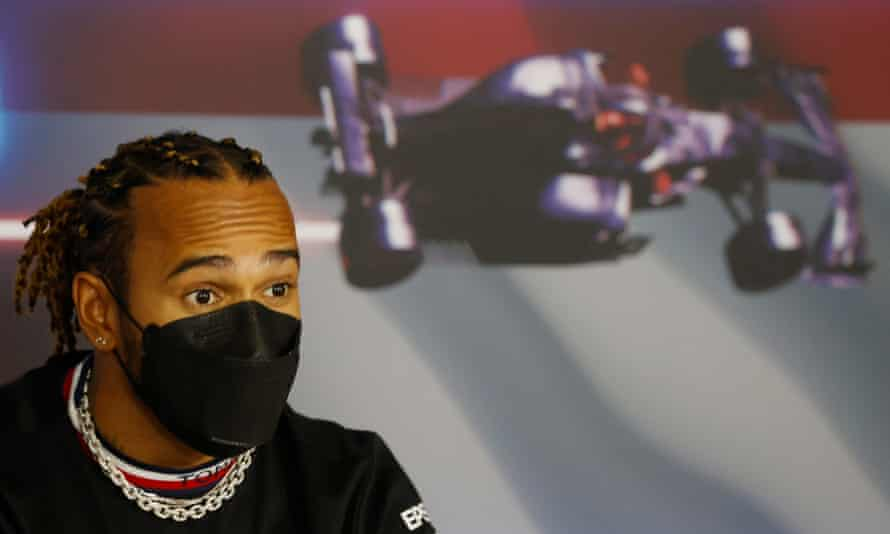 Lewis Hamilton is just behind Max Verstappen in the drivers' championship.