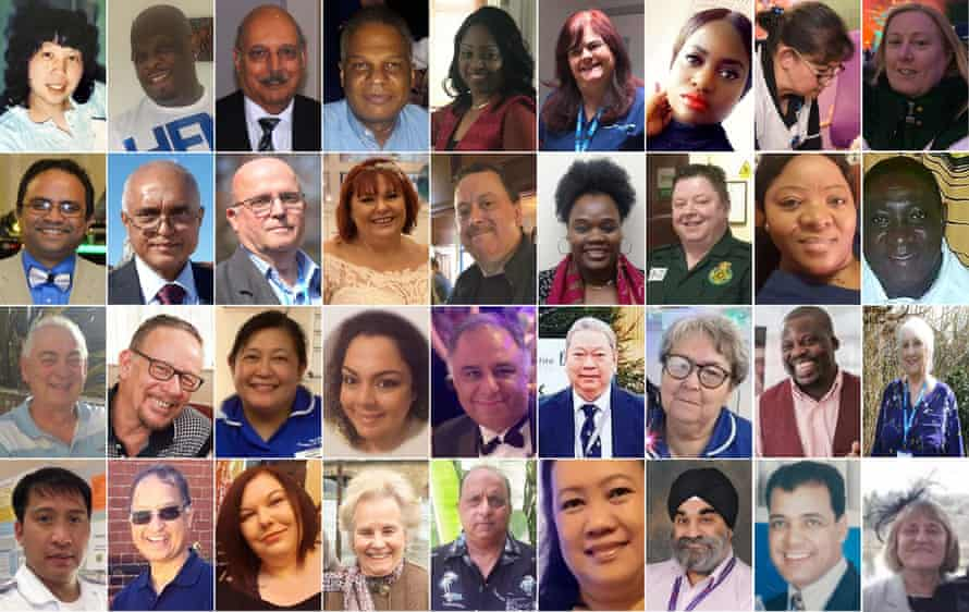 Many of the doctors and NHS workers who have died during the coronavirus pandemic.