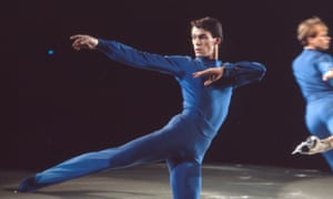 Olympic champion skater John Curry in a scene from upcoming film The Ice King.