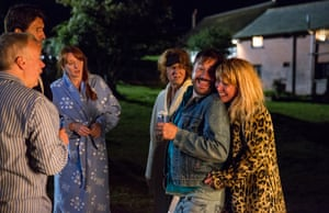 Some of the 'intrinsically damaged' characters in Julia Davis's Camping.