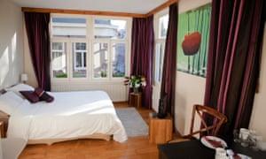 Bedroom at The Eelhouse, Amsterdam B&B.
