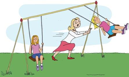 Favourite child illustration