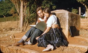 Roland and Sabrina in Morocco, 1957.