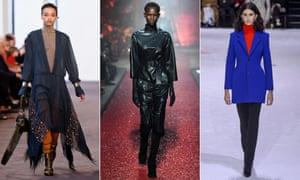 Chloé, Hermes and Balenciaga at Paris fashion week.
