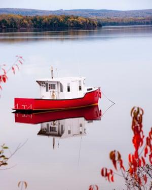 Bras d'Or Lake, Cape Breton, Nova Scotia, Canada