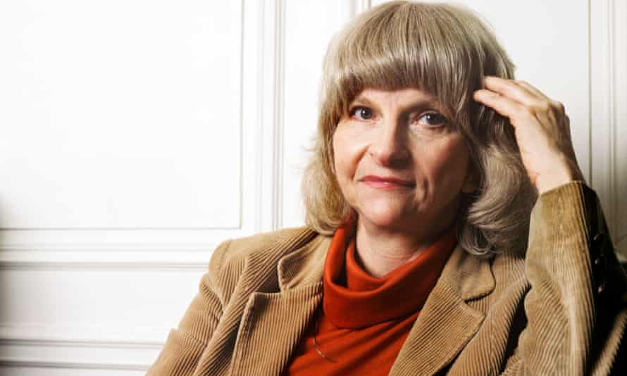 Alison Lurie in 1987. Her novels have a savage quality and Gore Vidal dubbed her 'the Queen Herod of modern fiction'.
