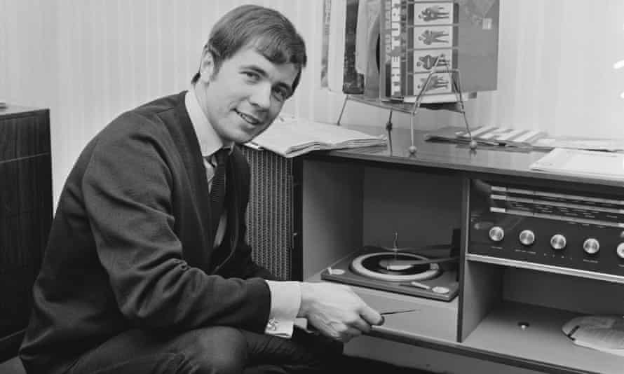 Barry Mason in 1966; within two years he had written three UK No 1 hit singles.