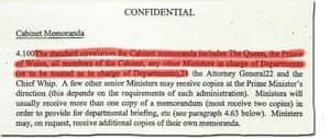 Cabinet document