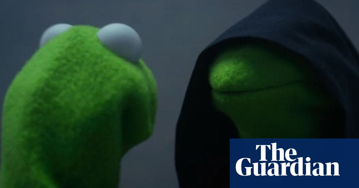 Evil Kermit The Perfect Meme For Terrible Times Internet The Guardian