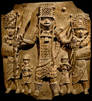 Olusoga explains how the brass sculptures of Benin ended up in the British Museum
