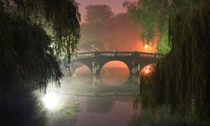 The bridge at Clare College, Cambridge