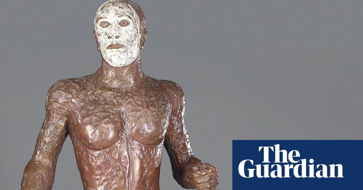 The Great British Art Tour: a masked thug flexes his muscles