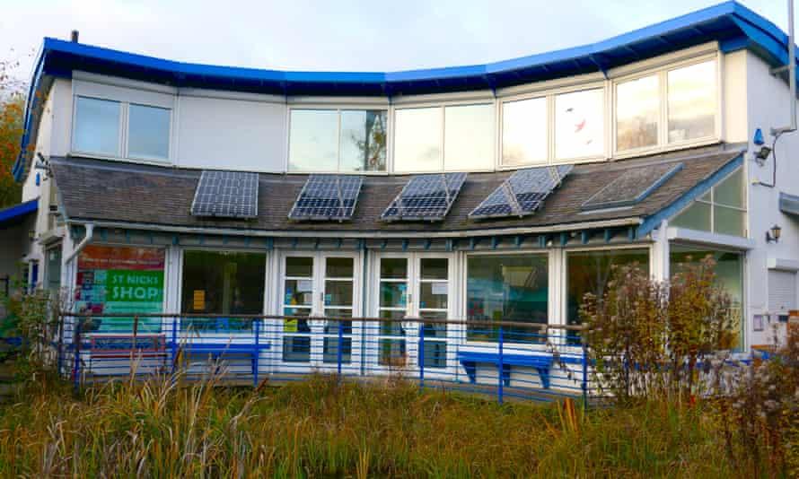Environment centre at St Nicks, York, UK.