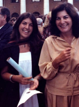 Jillian Edelstein with her mother at her graduation