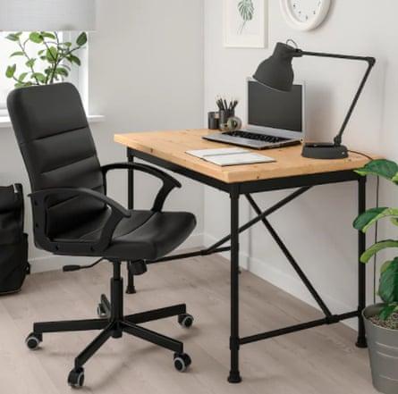 Torkel Swivel chair, black Bomstad black