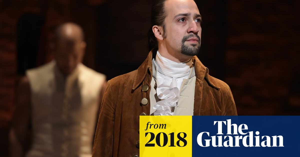 Hamilton movie 'won't be released until at least 2020