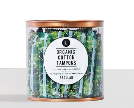 L., a company in the US, offers organic tampons under a social model; for each product bought, one is donated to a female entrepreneur in the developing world.
