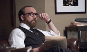Paul Giamatti plays a district attorney in Billions and embarks on one prosecution and one arrest after another.