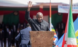 Burundi's new president, Evariste Ndayishimiye