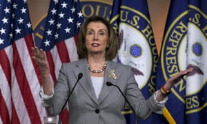 The speaker of the House, Nancy Pelosi, has said that Democrats will not be whipped for an eventual vote on impeachment.