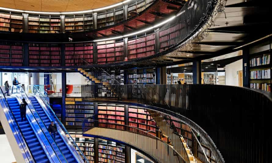 The new Birmingham Library … after opening to acclaim in 2013, opening hours were cut by 40% in 2015.