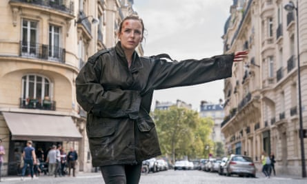 'I'd go down fighting for my girls' … Jodie Comer as Villanelle in Killing Eve.