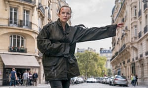 Back to death: Cromer as Villanelle in season two of Killing Eve.