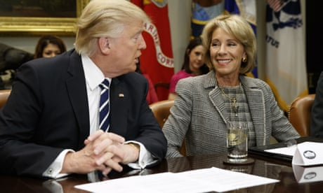 Billionaire Betsy DeVos wants to scrap student debt forgiveness. Surprised?
