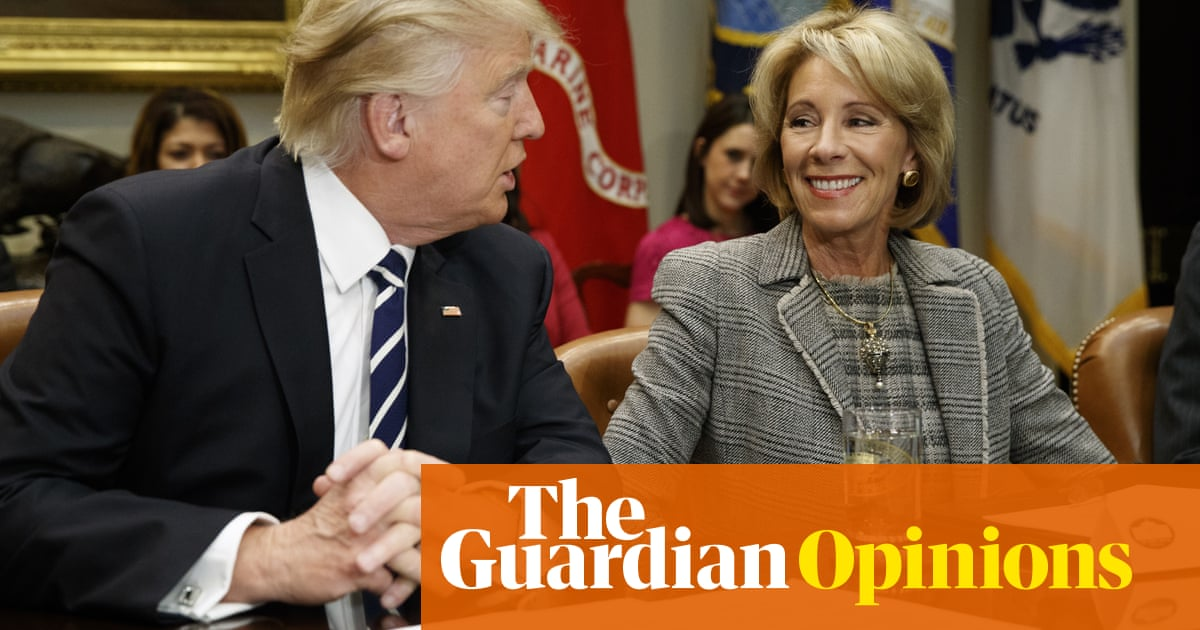Devos Scraps More Out Of Date Federal >> Billionaire Betsy Devos Wants To Scrap Student Debt Forgiveness