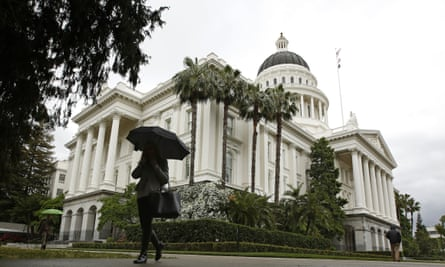 The Capitol in Sacramento, California – where one state government is countering Trump on the gig economy.