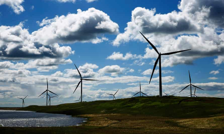 Whitelee, the UK's largest onshore windfarm, developed and operated by ScottishPower Renewables