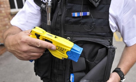 Police officer investigated after man Tasered and left paralysed in London