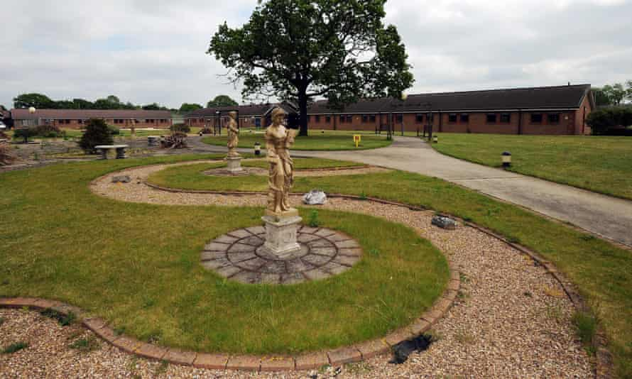 Morton Hall Immigration Removal Centre, near, Swinderby, Lincolnshire.