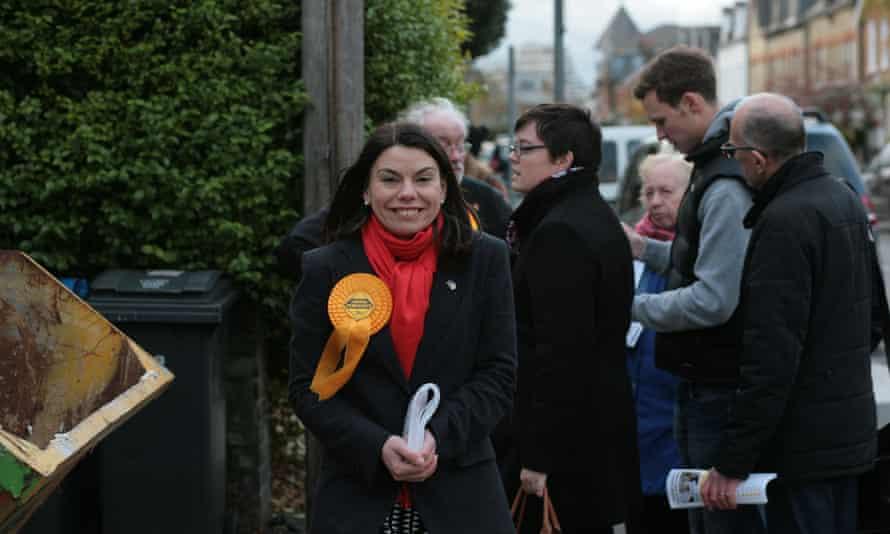 Liberal Democrat Sarah Olney