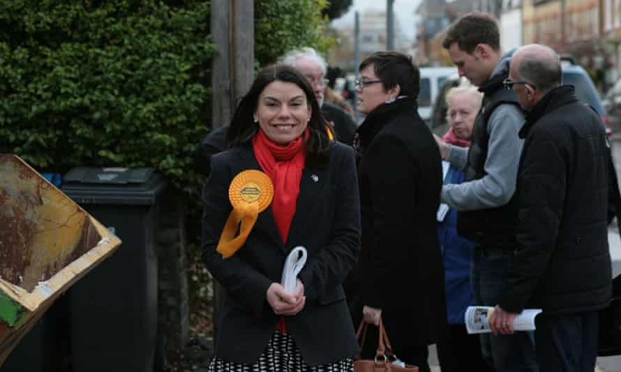 Sarah Olney, the Liberal Democrat candidate in the Richmond Park byelection.
