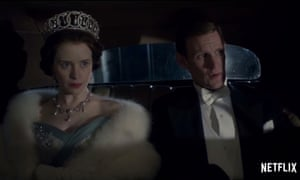 Netflix's The Crown stars Claire Foy and Matt Smith.